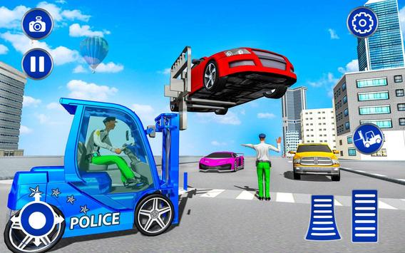 US Police Lifter Parking Simulator screenshot 3