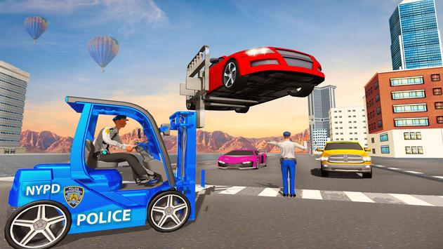 US Police Lifter Parking Simulator poster