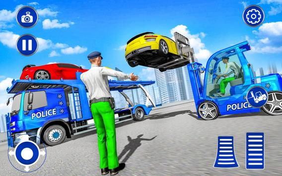 US Police Lifter Parking Simulator screenshot 12