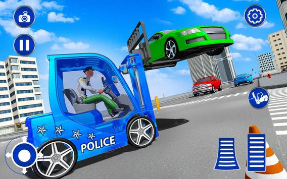 US Police Lifter Parking Simulator screenshot 14