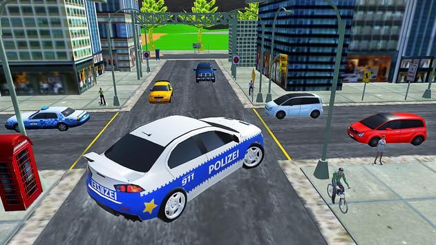 City Police Car Lancer Evo Driving Simulator screenshot 6