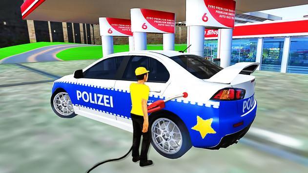 City Police Car Lancer Evo Driving Simulator screenshot 1