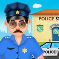 Crazy Policeman - Virtual Cops Police Station