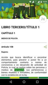 Código Nacional de Policía y Convivencia Ekran Görüntüsü 3