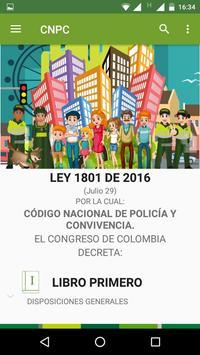 Código Nacional de Policía y Convivencia Ekran Görüntüsü 1