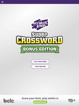 BCLC Super Crossword screenshot 5