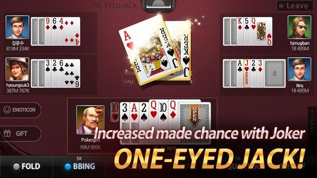 Poker Master (One Eyed Jack, 7poker, Low-Badugi) for