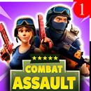 Combat Assault: CS PvP Tirador APK