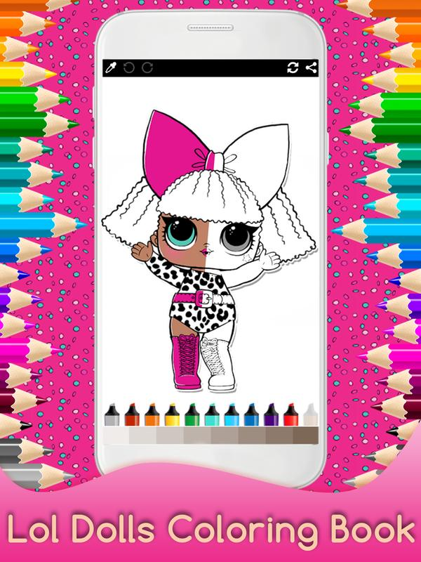 Mewarnai Surprise Dolls Lol For Kids For Android Apk Download