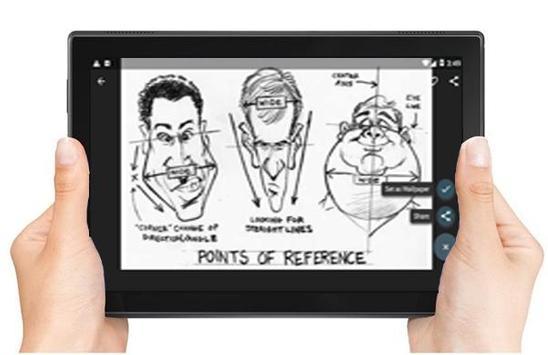 Drawing Caricatures Tutorial screenshot 6
