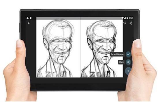 Drawing Caricatures Tutorial screenshot 8