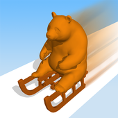 Tobogganing icon