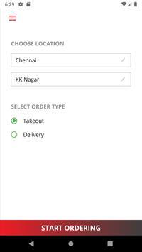 Triplicane Biriyani Online Ordering App poster
