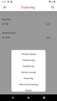 Triplicane Biriyani Online Ordering App screenshot 1