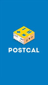 Postcal poster
