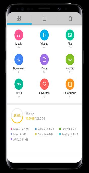 Rar Zip Tar 7z, Unrar, Unzip, File Manager pro for Android - APK