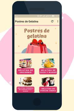 Postres de Gelatina poster