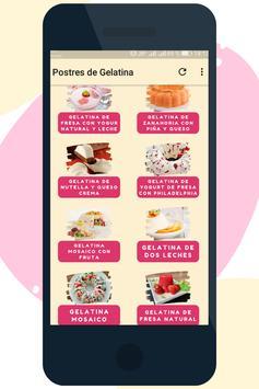 Postres de Gelatina screenshot 1