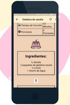 Postres de Gelatina screenshot 3