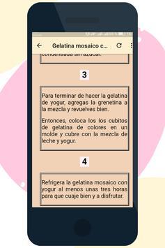 Postres de Gelatina screenshot 5