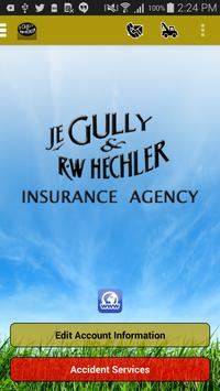 Gully and Hechler Insurance poster