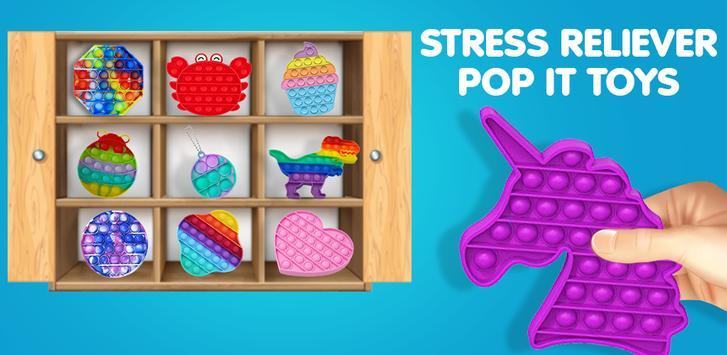 Pop It Сенсорные игрушки Fidget Снятие тревожности скриншот 16