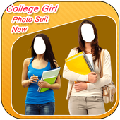College Girl Photo Suit New icon