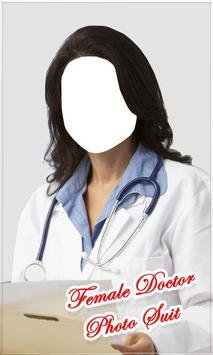 Female Doctor Photo Suit New poster