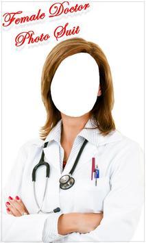 Female Doctor Photo Suit New screenshot 1