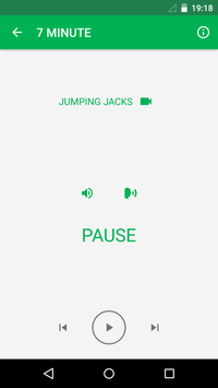 7 Minute Workout screenshot 4