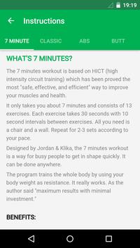 7 Minute Workout screenshot 7