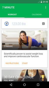 7 Minute Workout screenshot 1