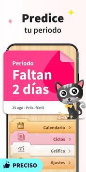 Calendario Menstrual - Fertilidad y Ovulacion captura de pantalla 1