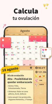 Calendario Menstrual - Fertilidad y Ovulacion captura de pantalla 2