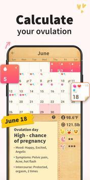 Period Tracker - Period Calendar Ovulation Tracker screenshot 2