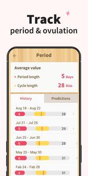 Period Tracker - Period Calendar Ovulation Tracker screenshot 5
