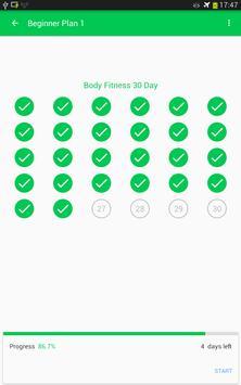 30 Day Fitness Challenge screenshot 14