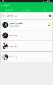 30 Day Fitness Challenge screenshot 7