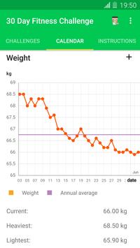 30 Day Fitness Challenge screenshot 4