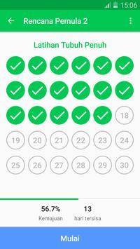 Tantangan Kebugaran 30 Hari - Latihan Rumahan syot layar 2