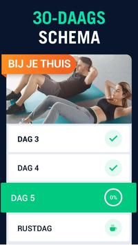 Fitnessuitdaging in 30 dagen screenshot 1
