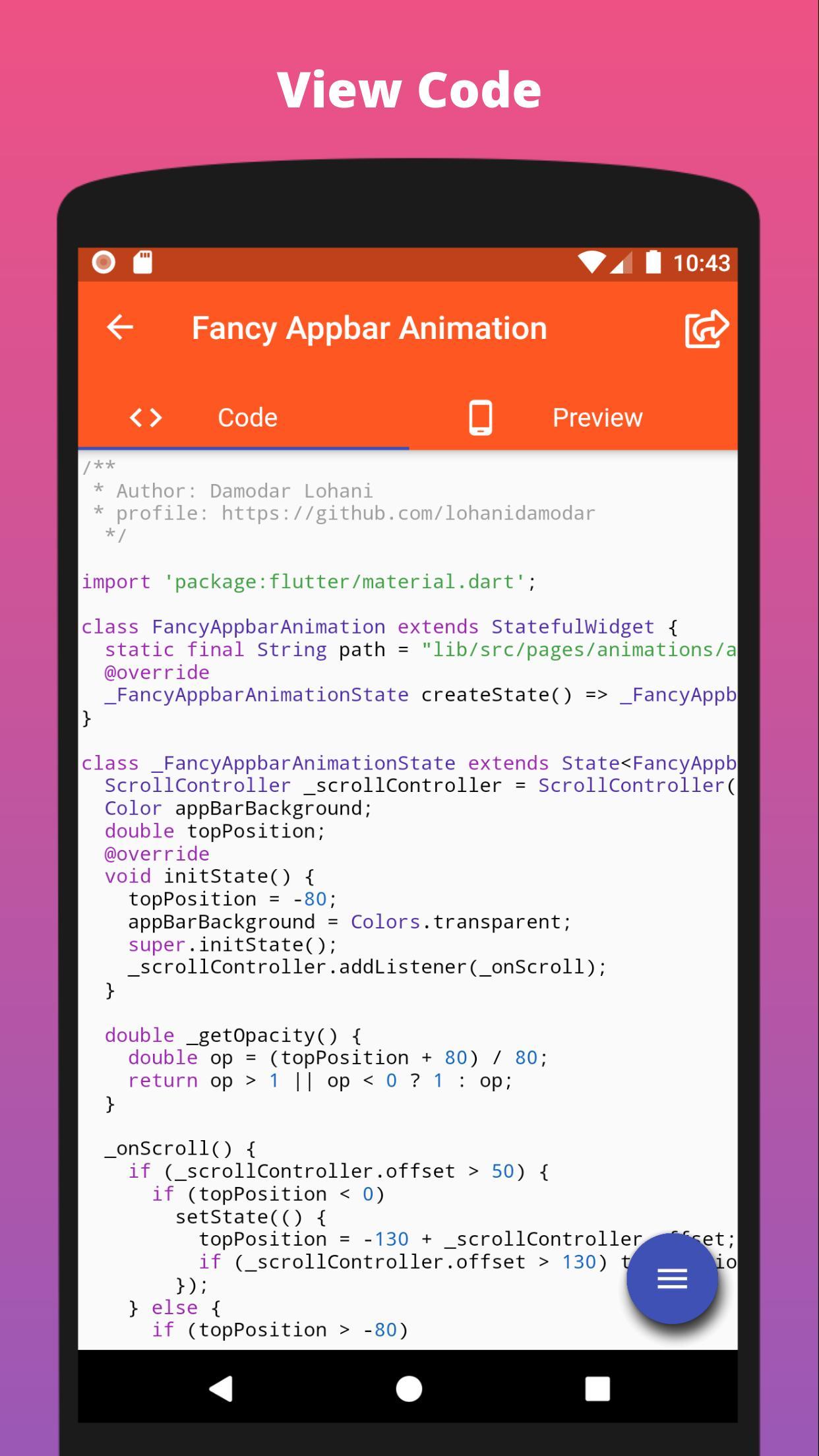 Flutter UI Challenges for Android - APK Download