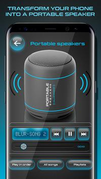 Volume Booster and Portable Speakers الملصق