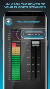 Volume Booster and Portable Speakers تصوير الشاشة 1