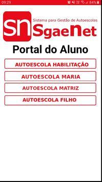 SgaeNet portal do aluno poster