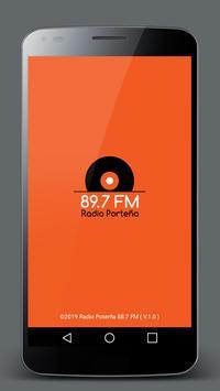 Radio Porteña 89.7 FM poster