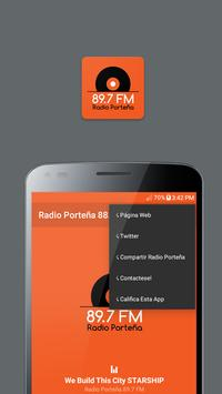 Radio Porteña 89.7 FM screenshot 4