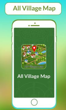 All Village Map poster