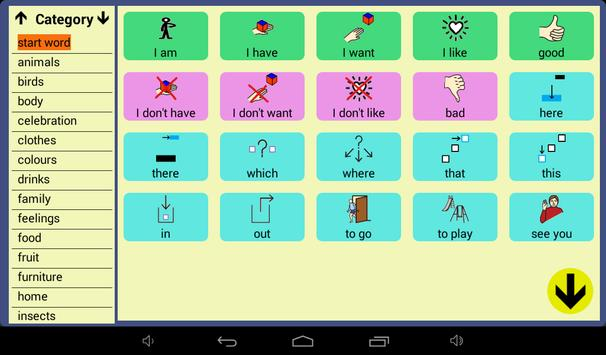 User Symbols AAC Lite screenshot 6