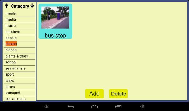 User Symbols AAC Lite screenshot 9